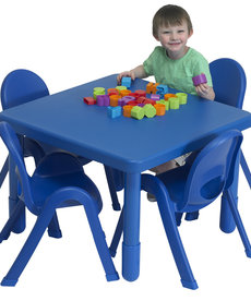 My Value Preschool Square Table & 4 chairs