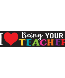 I Love Being Your Teacher Banner
