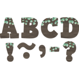 "Eucalyptus 4"" Bold Block Magnetic Letters"