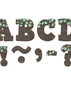 "Eucalyptus 4"" Bold Block Magnetic Letters"