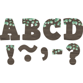 Eucalyptus Bold Block Magnetic Letters