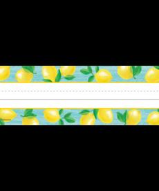 Lemon Zest Flat Nameplates