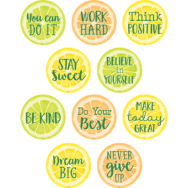 Lemon Zest Positive Sayings