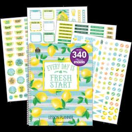 Lemon Zest Lesson Planner