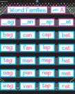 Chalkboard Brights Pocket Chart