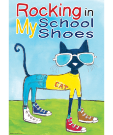 Pete the Cat Rocking My School Shoes Poster