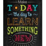 Make Today the Day To... Inspire U Poster