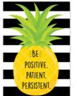 Be Positive Patient Persistent Inspire U Poster