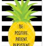 Be Positive Patient Persistent Inspire U Poster