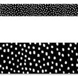 Messy Dots on Black Border