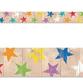 Rustic Stars... Border