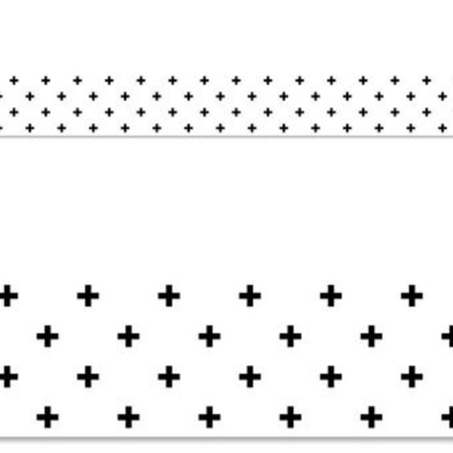 Black Swiss Cross
