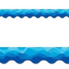 Waves of Blue Border