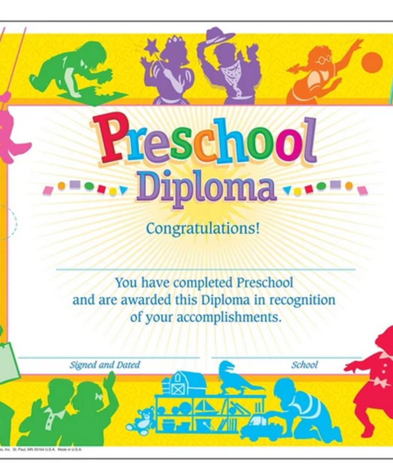 Classic Preschool Diploma