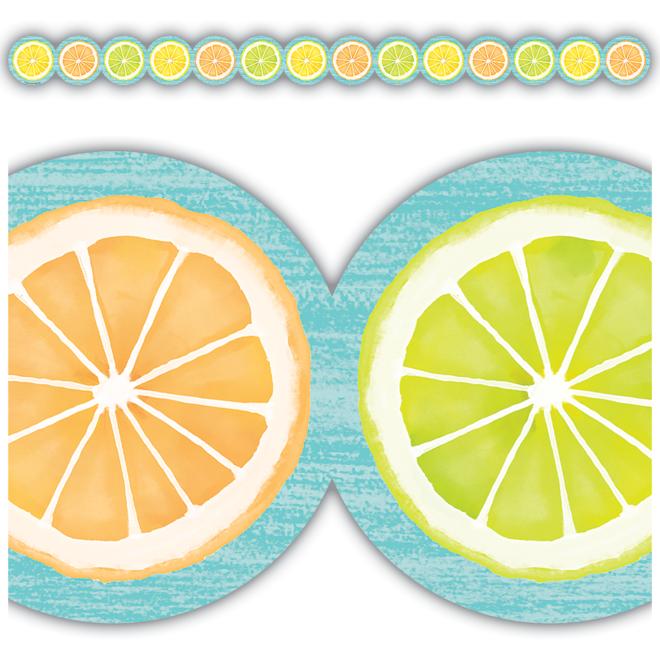 Lemon Zest Citrus Slices Trim