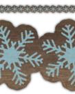 Home Sweet Classroom Snowflakes Trim