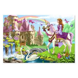 Melissa & Doug Fairy Tale Castle Floor Puzzle 48pc