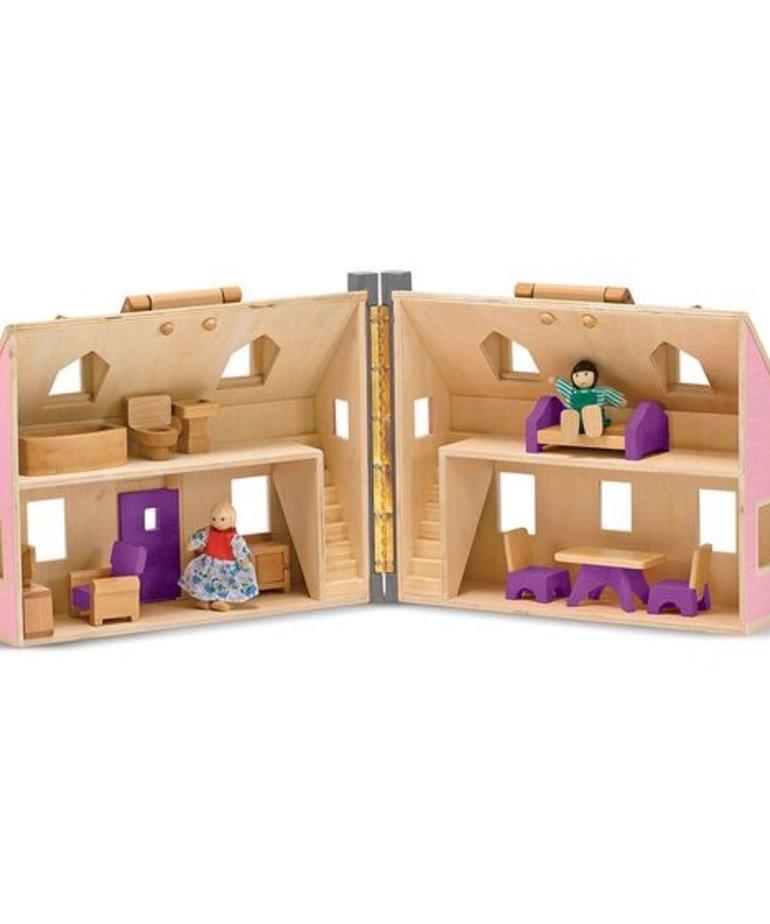 Melissa & Doug Fold & Go Dollhouse