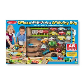 Melissa & Doug Deluxe Train & Road Rug