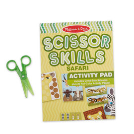 Scissor Skills Safari Actiity Pad