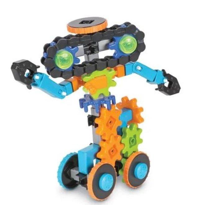 Gears! Gears! Gears! Robots in Motion