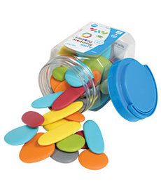 Junior Pebbles Mini Jar- Earth Colors