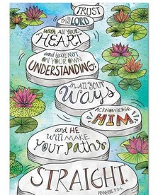 Proverbs 3:5-6 (Rejoice)-Poster