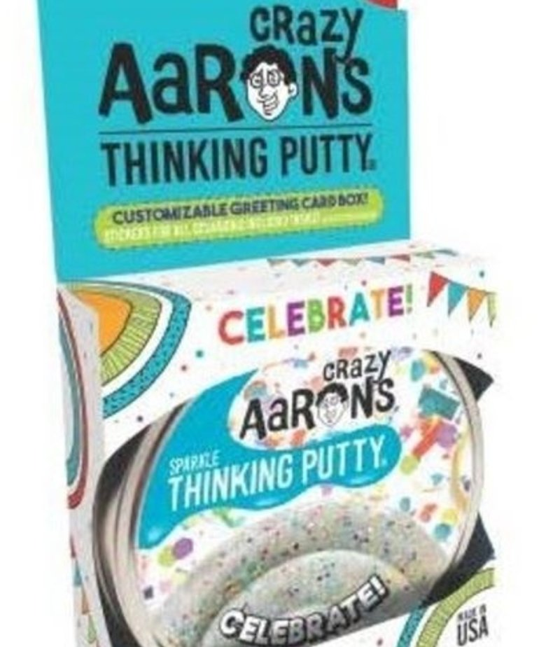 Crazy Aaron's Thinking Putty-Celebrate