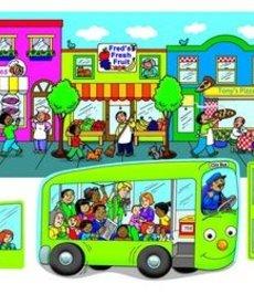 Wheels On The Bus Felt Set