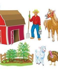 Old Macdonald Had A Farm Felt Set
