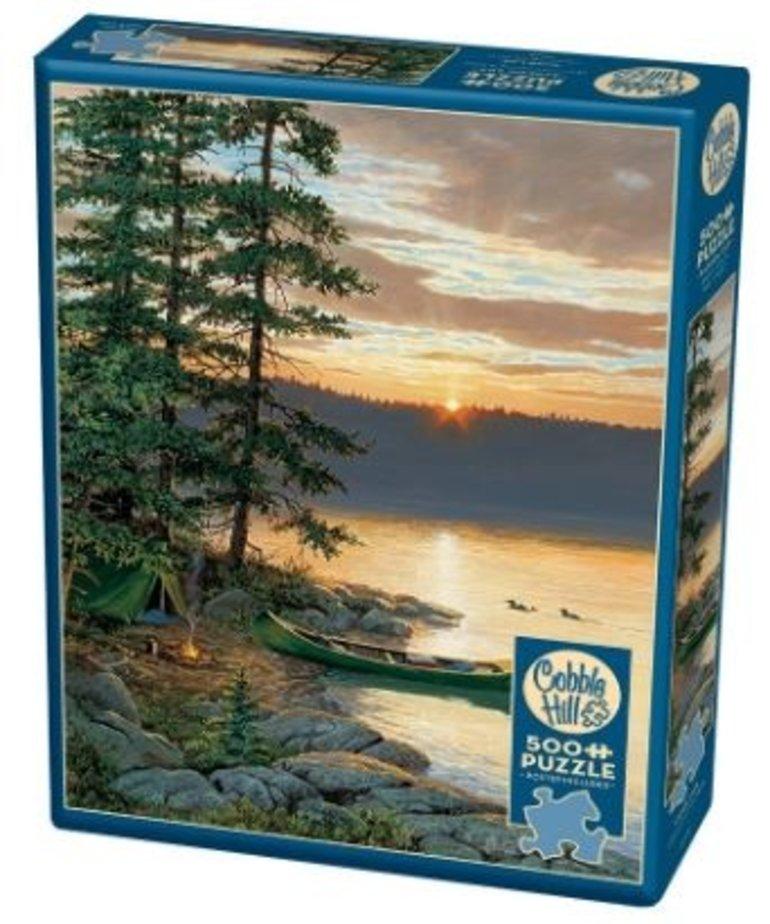 Cobble Hill Canoe Lake Puzzle 500pc