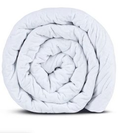Hush Classic Blanket- Queen 25lb White