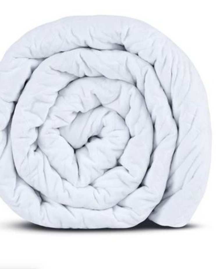 HUSH Hush Classic Blanket- Queen 25lb White