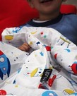 Hush Kids Blanket- Spaceships