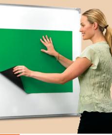 Quick Stick Instant Flannel Board