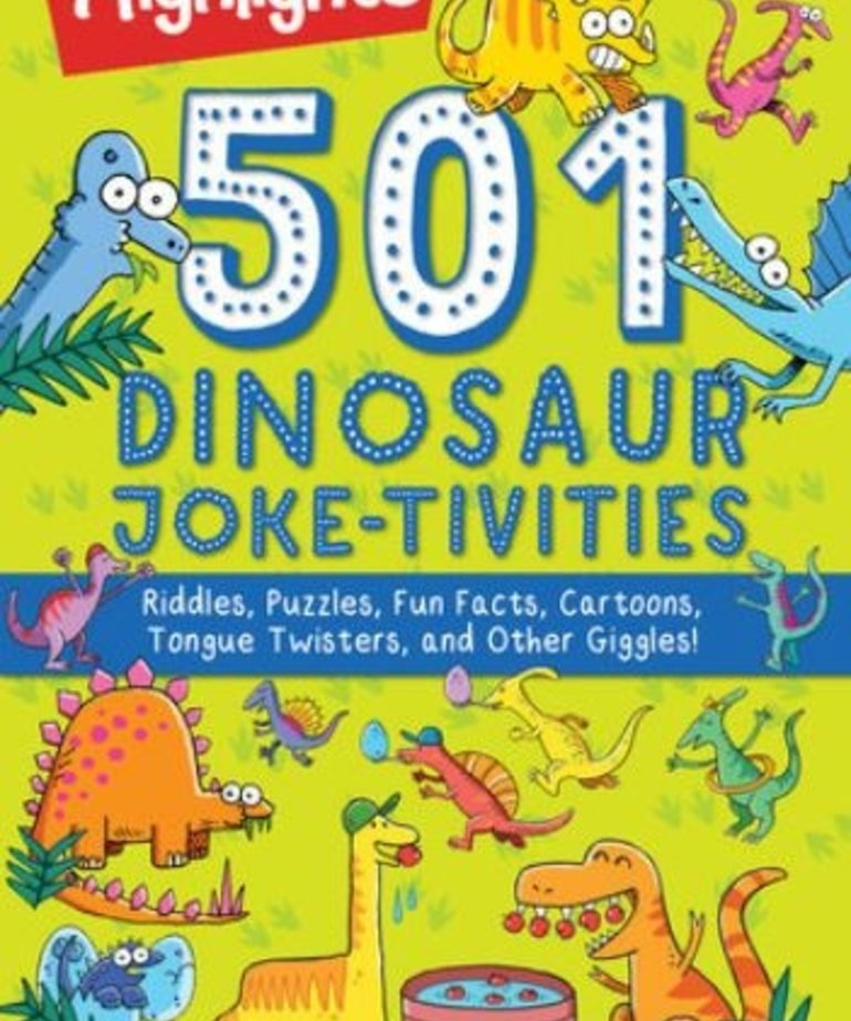 501 Dinosaur Joke-tivities