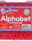 Alphabet Stamps-Uppercase Dotted Lines