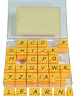 Alphabet Stamps Uppercase-Transitional