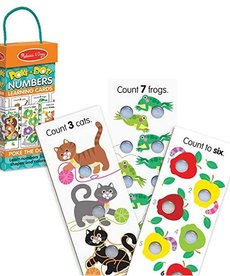 Melissa & Doug Poke-A-Dot Numbers: Learning Cards