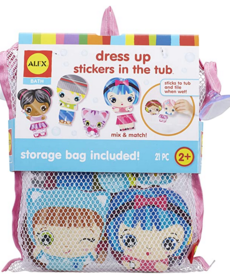 Dress up Tub Stickers
