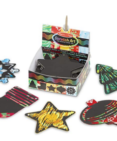 Melissa & Doug Holiday Scratch Art Notes