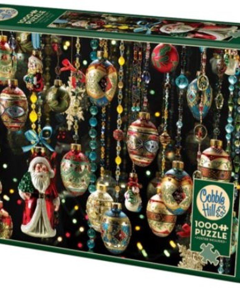 Cobble Hill Christmas Ornaments 1000pc Puzzle
