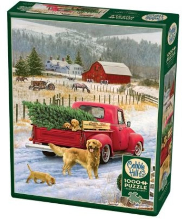Cobble Hill Christmas on the Farm Puzzle 1000pc