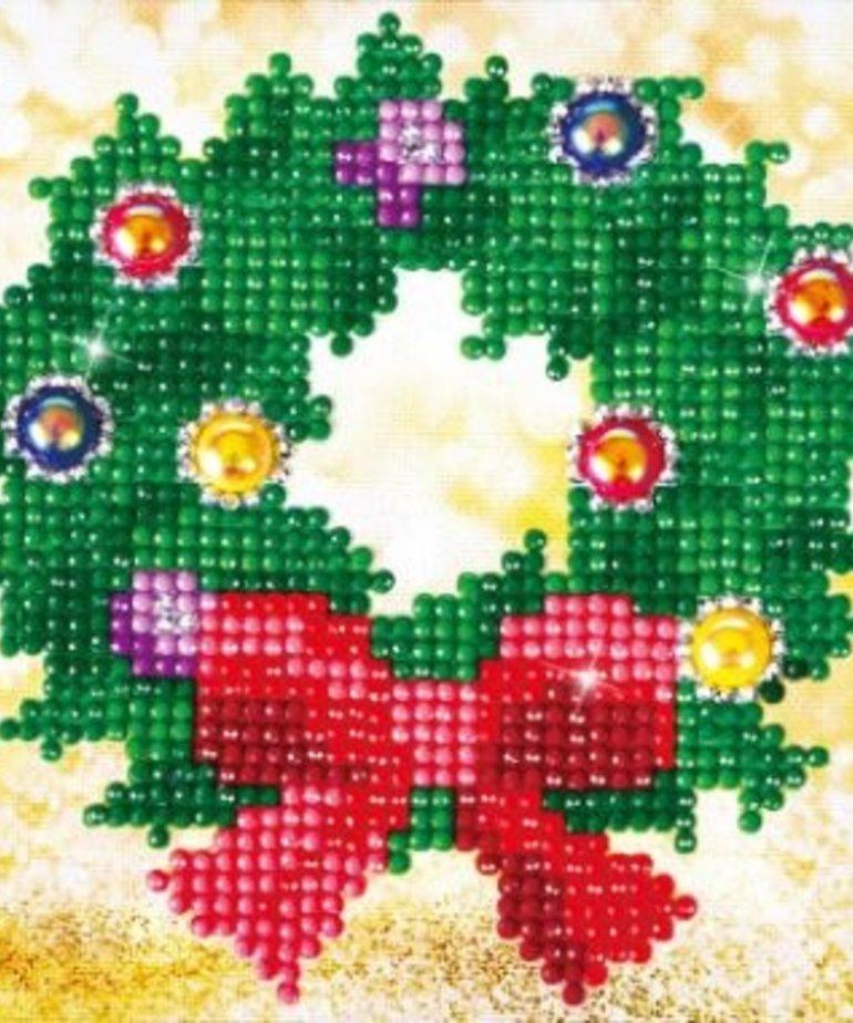 Diamond Dotz-Christmas Wreath