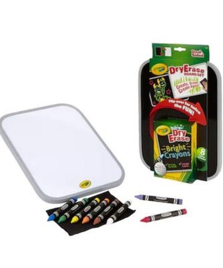 Crayola Crayola Dual Sided Dry Erase Board Set