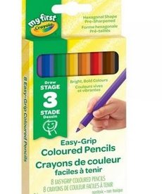 Crayola My First Easy-Grip Colored Pencil