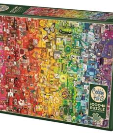 Cobble Hill Colorful Rainbow Puzzle 1000pc