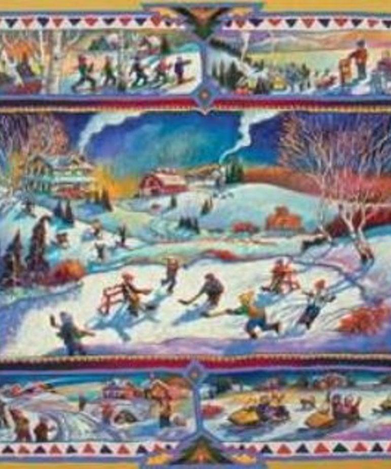 Ravensburger Canadian Winter 1000 pc puzzle