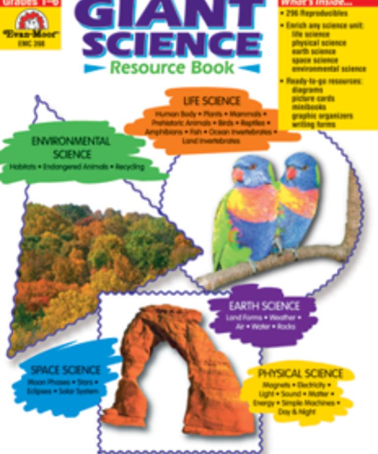 Evan-Moor Giant Science Resource Book
