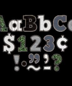 "Modern Farmhouse Bold Block 4"" Letters"